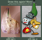 Draw This Again meme- Brave Little Toaster by Fawfulthegreat64
