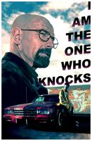 Breaking Bad - The One Who Knocks by paulwilliamsart