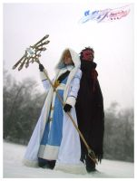 Kurogane and Fai cosplay by Malindachan