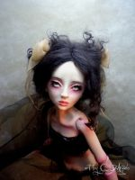 Ball jointed art doll commissioned by cdlitestudio