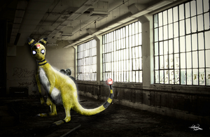 Ampharos by Michael-Bollig
