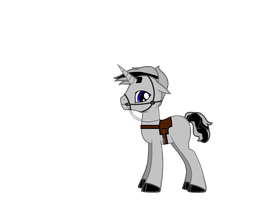 Ponies Geared Up - Silvermane by Imp344