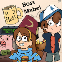 Boss Mabel by TheDPFangurl