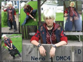 Cosplay :: Nero Collage 2 by Nanuka
