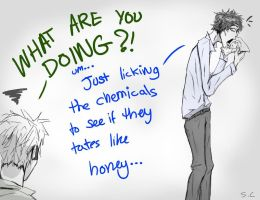 Sherlock - It's an Experiment by suspicious-chicken