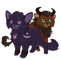 Druid Kitten Love by jyotsana