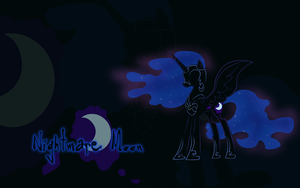 MLP: Nightmare Moon Wallpaper by godoflight