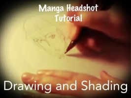 Manga Headshot Tutorial video - Drawing / Shading by CrypticGrin