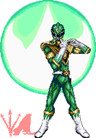 Go! Green Ranger by shadefalcon