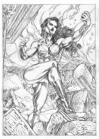Donna Troy by AllPat