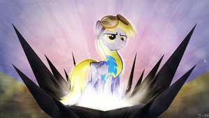 Derpy The Wonderbolt - {Collab with Mackaged} by KibbieTheGreat