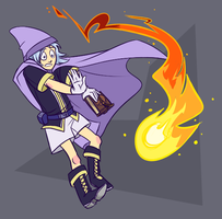 Mage Pent by omgdragonfly