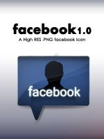Facebook 1.0 Icon by johnamann