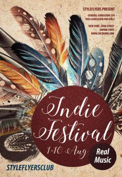 Indie-Festival by Styleflyers