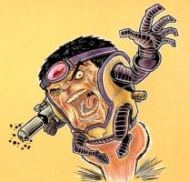 MODOK RAGE by johnraygun