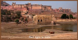 Fort Agra in India by SnapperRod