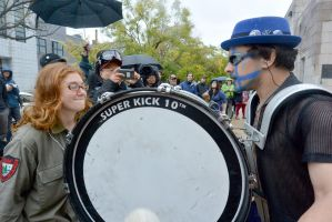 2014 Honk Festival, Chaotic Noise Up Close 2 by Miss-Tbones