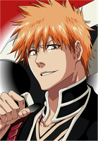 New Shinigami Ichigo :3 by Mifang