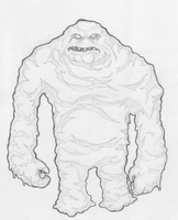 Clayface by b-dangerous