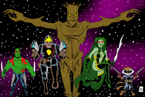Guardians of the Galaxy by EarthmanPrime