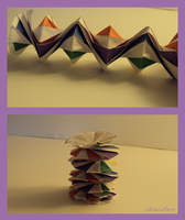 Spring Into Action Origami by stonesliver
