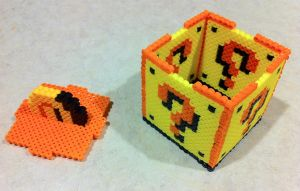 ? Cube 3D bead sprite open by Flames2Earth