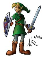 Month of Nintendo: Link by Marioshi64