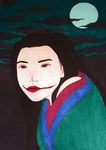 Kuchisake onna by tributespirits