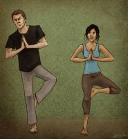SPN: yoga by annARTism
