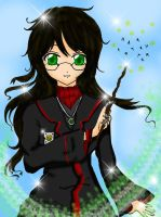 GBHarry Potter by WINGEDLESS by carmeltheneko