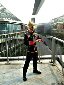 Zell Dincht cosplay  SeeD uniform by Alexcloudsquall