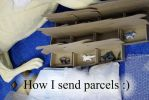 How I send parcels by hontor