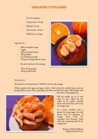 Orange cupcakes - recipe by Melhyria