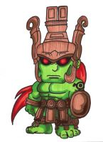 Pocket Fighter - Ogre by fastg35