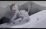 Snowfall (Commission) by RedTheLioness