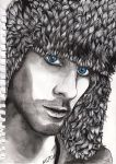 JARED LETO blue eyes by SUSI-the-FUZZYHEAD
