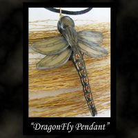 Dragonfly Charm by KabiDesigns