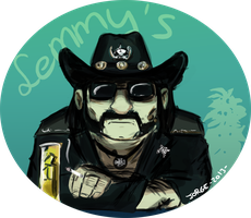 Lemmy Kilmister by Red-bat