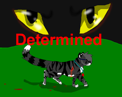 Determined Cover by PI0SON
