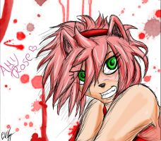 KickAss girls: Amy Rose by EvilHateYouAll