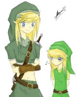 Female Links by Migerumaru
