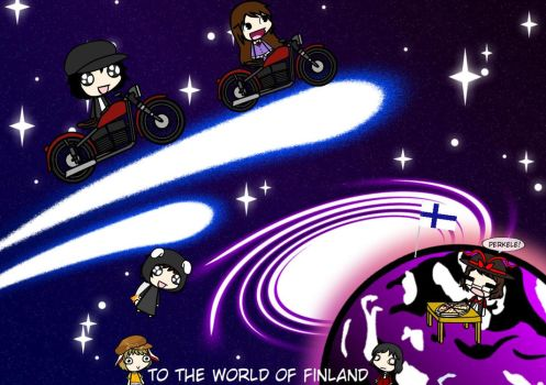 Finland Here We Come~ by Weasels777