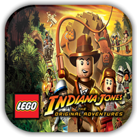 Lego Indiana Jones Game Icon by Wolfangraul