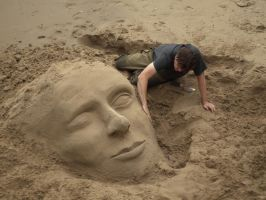 Sand Sculpture 00 - Aug 10 by mszafran