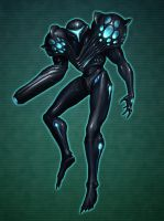 Dark Samus by rpowell77
