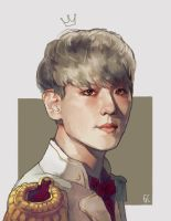 prince baekhyun by genicecream