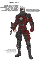 Armour design.4 by Chuckdee