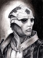 Thane Portrait 2 by efleck