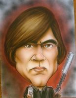 Javier Bardem No Country FOM by infiltr8arts