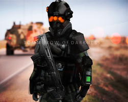 Tommorow of Darkness-Martian Soldier Concept by n00bmodders